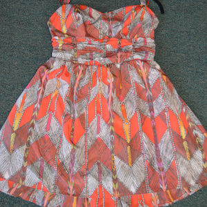 Guess Silky Red Dress Size 8